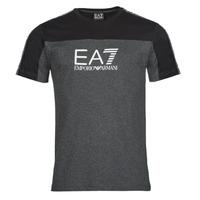 textil Herr T-shirts Emporio Armani EA7 TRAIN ATHLETIC Svart