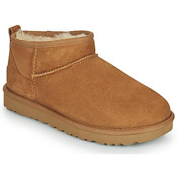Skor Dam Boots UGG Classic Ultra Mini Kamel
