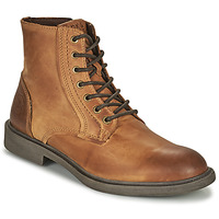 Skor Herr Boots Jack & Jones JFW KARL LEATHER BOOT Cognac
