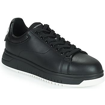 Skor Herr Sneakers Emporio Armani ANITY Svart