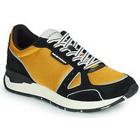 Skor Herr Sneakers Emporio Armani TREMMA Svart / Gul