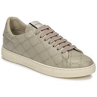Skor Dam Sneakers Emporio Armani DANSSE Beige / Vit
