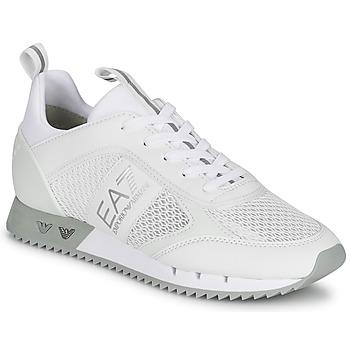 Skor Sneakers Emporio Armani EA7 BLACK&WHITE LACES Vit