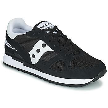 Skor Herr Sneakers Saucony SHADOW ORIGINAL Svart / Vit