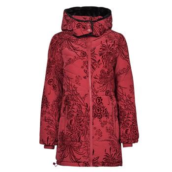 textil Dam Täckjackor Desigual JAPAN Röd