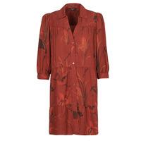 textil Dam Korta klänningar Desigual SEVILLA Röd