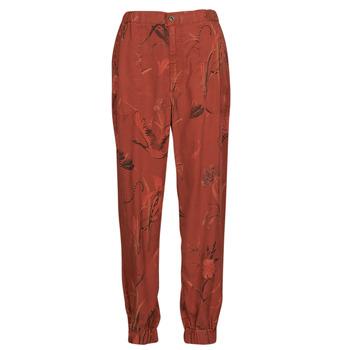 textil Dam Baggybyxor Desigual CAMOTIGER Röd