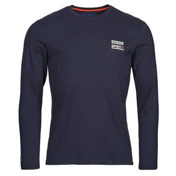 textil Herr Långärmade T-shirts Oxbow N2TORJOK Marin