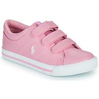 Skor Flickor Sneakers Polo Ralph Lauren ELMWOOD EZ Rosa
