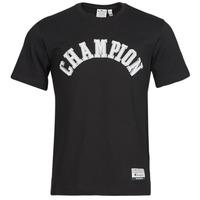 textil Herr T-shirts Champion 216575 Svart