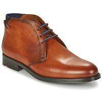Skor Herr Boots Lloyd PATRIOT Cognac