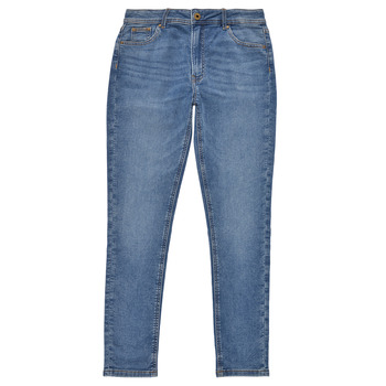 textil Flickor Skinny Jeans Pepe jeans PIXLETTE HIGH Blå