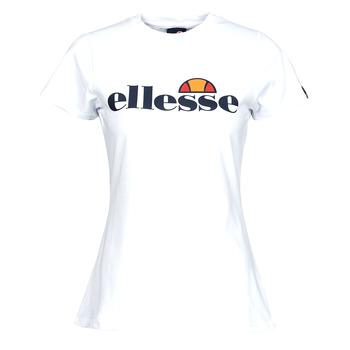 textil Dam T-shirts Ellesse HAYES SLIM Vit