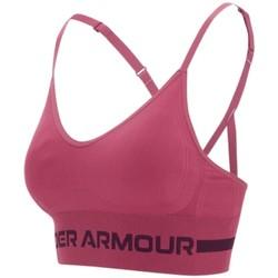 textil Dam Sport-BH Under Armour Seamless Low Long Bra Violet
