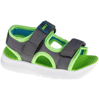 Skor Barn Sportsandaler Skechers C-Flex Sandal 2.0 Hydrowaves Grise