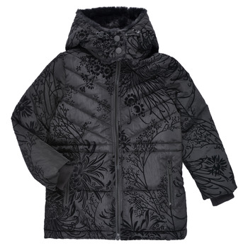 textil Flickor Täckjackor Desigual MOSELLE Svart