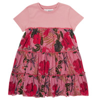textil Flickor Korta klänningar Desigual ZAFIRO Rosa