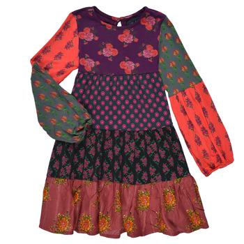 textil Flickor Korta klänningar Desigual CELIA Flerfärgad