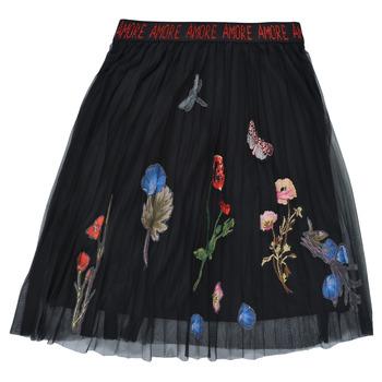textil Flickor Kjolar Desigual ANDREA Svart