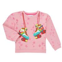 textil Flickor Sweatshirts Desigual MARGARA Rosa