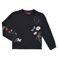 textil Flickor Sweatshirts Desigual ALICIA Svart
