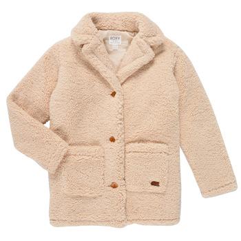 textil Flickor Kappor Roxy RUNAWAY BABY Vit
