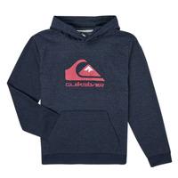 textil Pojkar Sweatshirts Quiksilver BIG LOGO YOUTH Marin