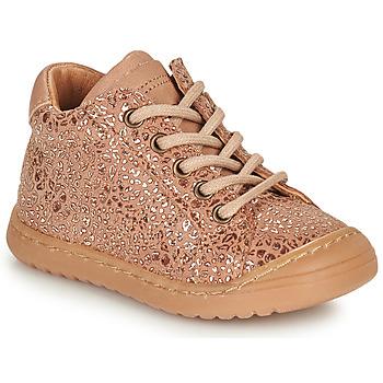 Skor Flickor Boots Bisgaard THOR Rosa / Guldfärgad