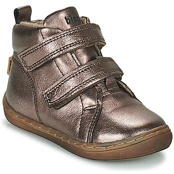 Skor Flickor Höga sneakers Bisgaard DEE Silver