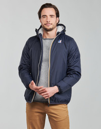 textil Herr Vindjackor K-Way LE VRAI 3.0 CLAUDE ORSETTO Blå