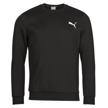 textil Herr Sweatshirts Puma ESS CREW SWEAT FL Svart