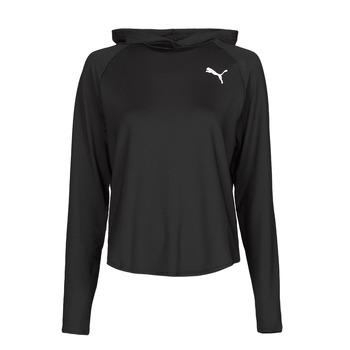 textil Dam Sweatshirts Puma ACTIVE HOODIE Svart