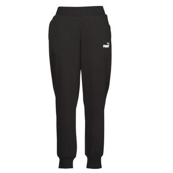 textil Dam Joggingbyxor Puma ESS SWEAT PANT FL CL Svart