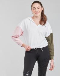 textil Dam Sweatshirts Puma MODERN SPORT HOODIE Vit / Flerfärgad