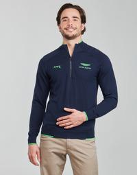 textil Herr Tröjor Hackett HM702727 Marin