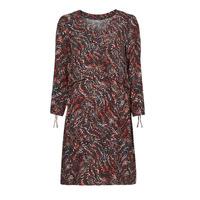 textil Dam Korta klänningar One Step FT30121 Röd / Flerfärgad