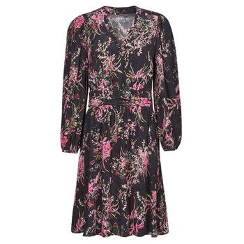 textil Dam Korta klänningar One Step FT30101 Svart / Flerfärgad