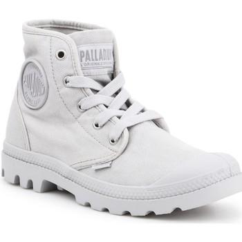 Skor Dam Höga sneakers Palladium US PAMPA HI F Vapor 92352-074-M grey