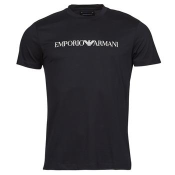 textil Herr T-shirts Emporio Armani 8N1TN5 Svart