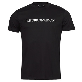 textil Herr T-shirts Emporio Armani 8N1TN5 Marin