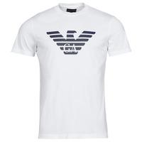 textil Herr T-shirts Emporio Armani 8N1TN5 Vit