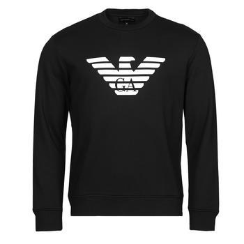 textil Herr Sweatshirts Emporio Armani 8N1MR6 Svart