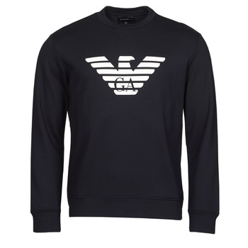 textil Herr Sweatshirts Emporio Armani 8N1MR6 Marin