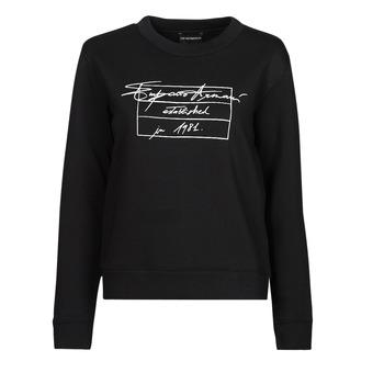 textil Dam Sweatshirts Emporio Armani 6K2M7R Svart