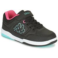 Skor Flickor Sneakers Kappa KASH LOW EV Svart / Blå / Rosa