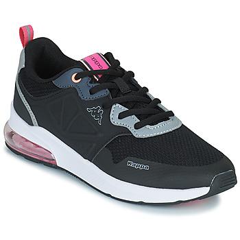 Skor Flickor Sneakers Kappa SPLINTER LACE KID Blå / Rosa