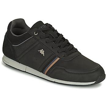 Skor Herr Sneakers Kappa TYLER Svart