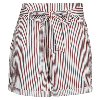 textil Dam Shorts / Bermudas Vero Moda VMEVA Vit / Brun