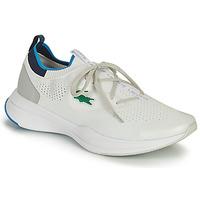 Skor Herr Sneakers Lacoste RUN SPIN KNIT 0121 1 SMA Vit / Blå