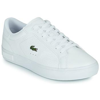 Skor Dam Sneakers Lacoste POWERCOURT 0721 2 SFA Vit